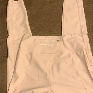 Baby pink leggings
